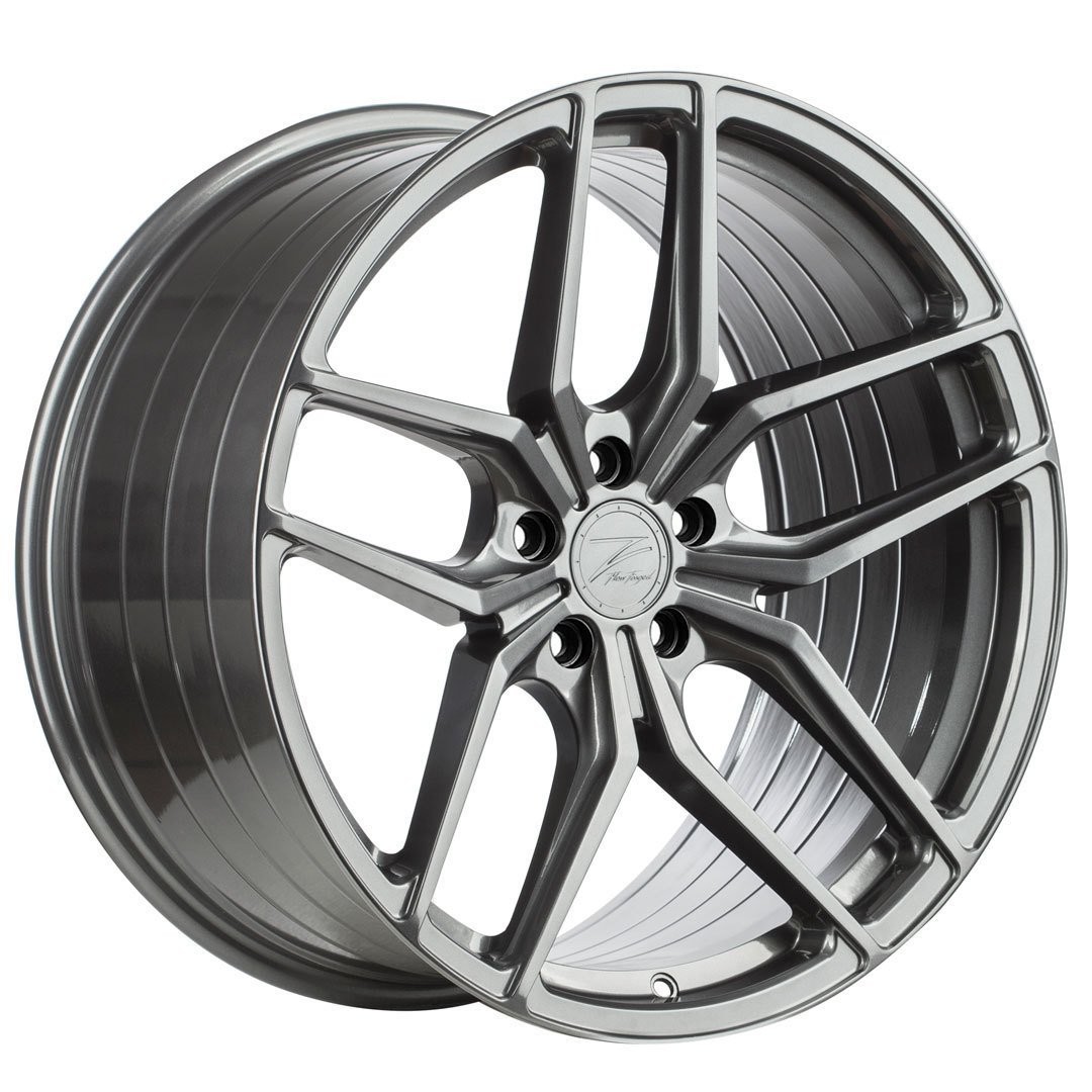 Z-Performance ZP2.1 10x20 ET48 5x112 FlowForged Gloss Metal