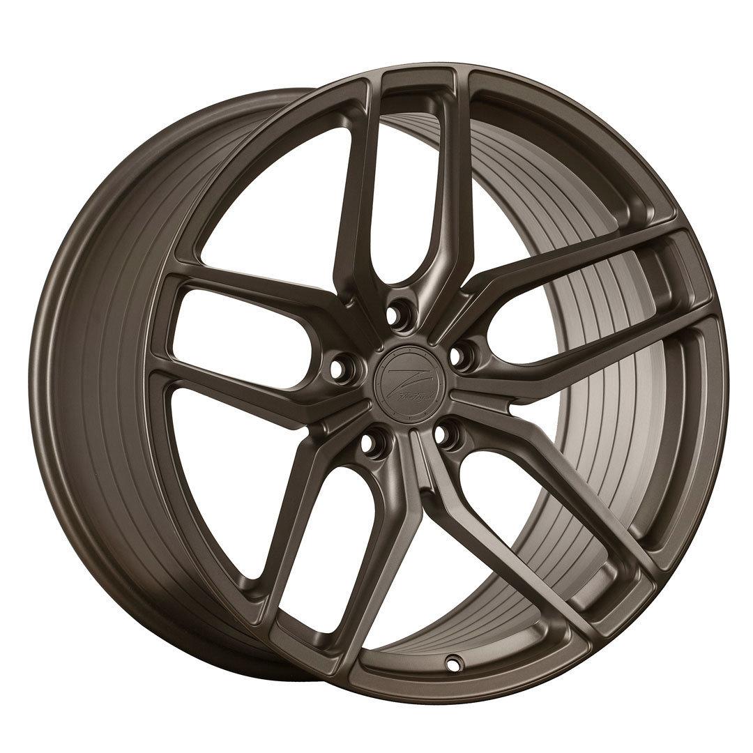 Z-Performance ZP2.1 9.5x20 ET22 5x120 FlowForged Matte Carbon Bronze