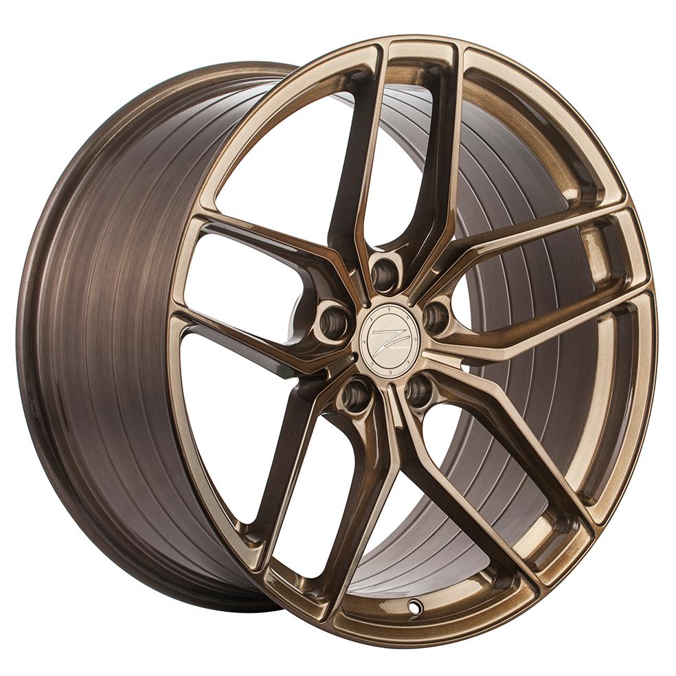 Z-Performance ZP2.1 9.5x20 ET22 5x120 Flowforged Brushed Liquid Bronze