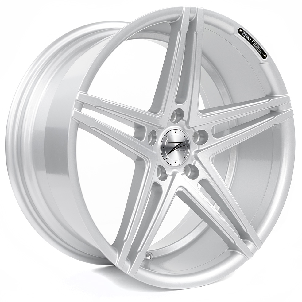 Z-Performance ZP4.1 8.5x19 ET45 5x112 Sparkling Silver