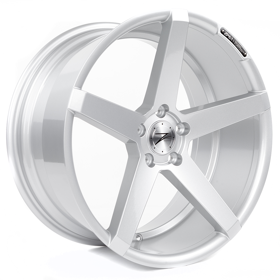Z-Performance ZP6.1 10.5x20 ET26 5x120 Sparkling Silver