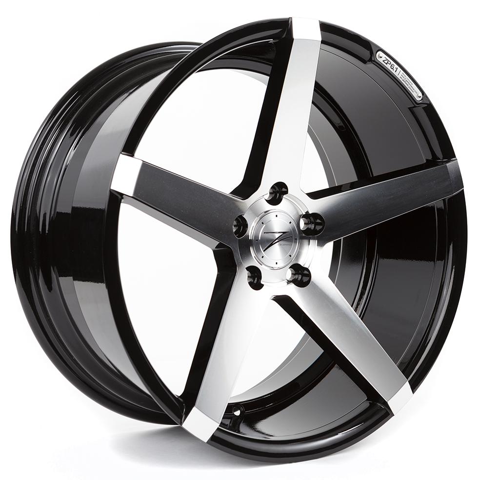 Z-Performance ZP6.1 9x20 ET30 5x120 Gloss Black Polished