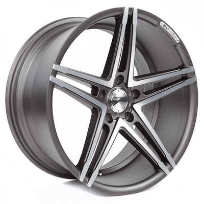 Z-Performance ZP4.1 9.5x19 ET40 5x120 Matte Gunmetal Polish