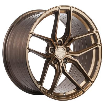 Z-Performance ZP2.1 9x20 ET35 5x112 Flowforged Brushed Liquid Bronze