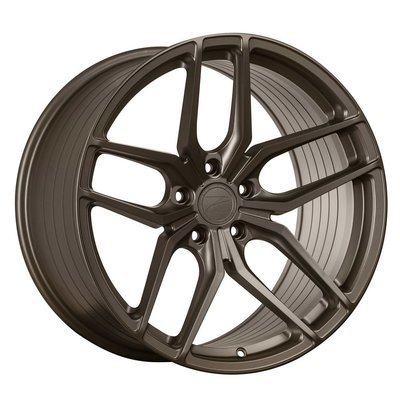 Z-Performance ZP2.1 9x20 ET25 5x112 FlowForged Matte Carbon Bronze