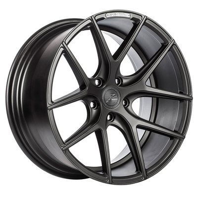 Z-Performance ZP.09 8.5x19 ET45 5x112 Matte Black