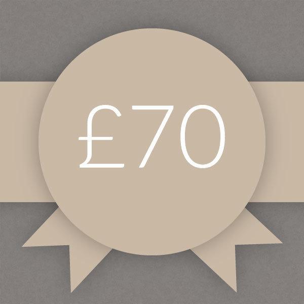 Gift Voucher £70 0007