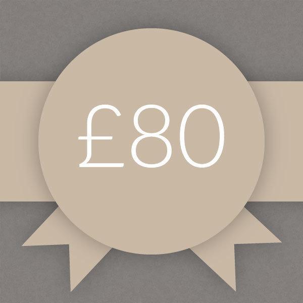Gift Voucher £80 0008