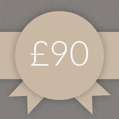Gift Voucher £90