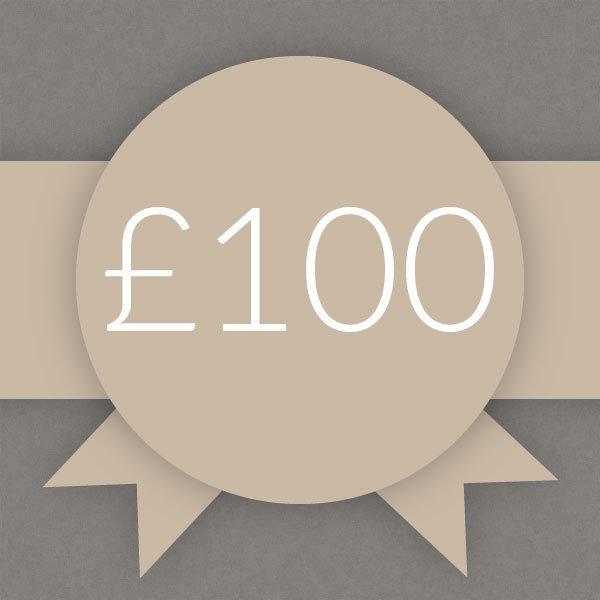 Gift Voucher £100 0010