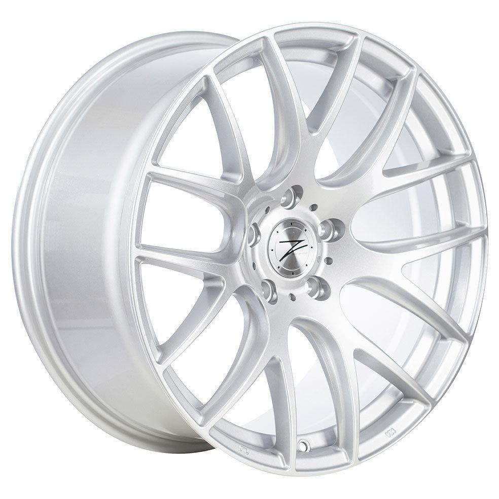 Z-Performance ZP.01 9x18 ET40 5x120 Sparkling Silver ZP019018512040726HSXX
