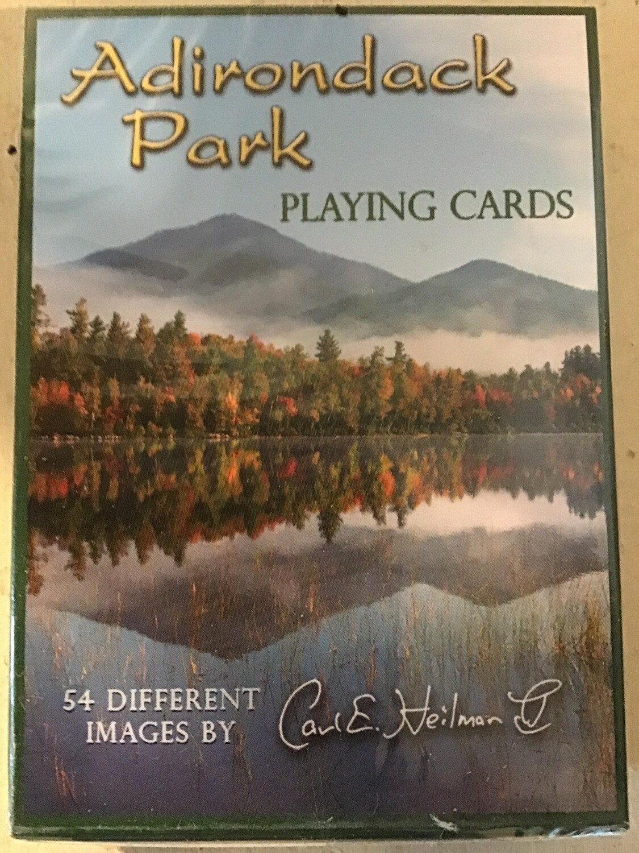Carl E. Heilman II Adirondack Park Playing Cards