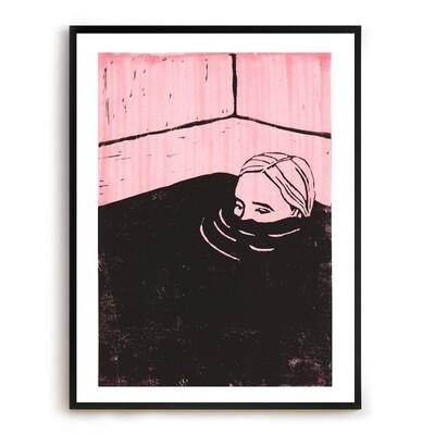 Mulling Print - pink