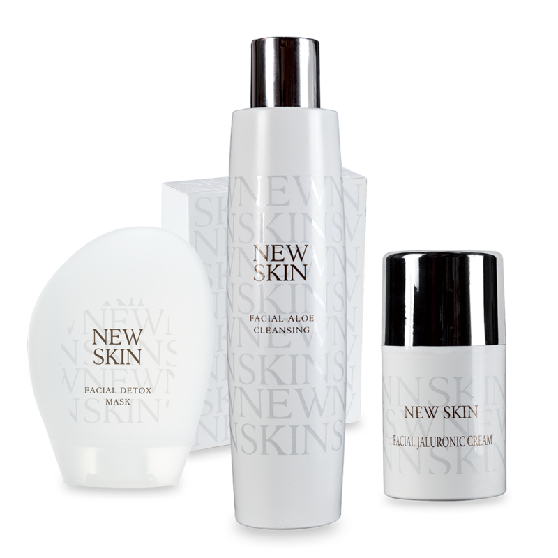 Aloe Cleansing + jaluronic Cream +  GRATIS Detox Mask - Beauty Routine Pelle mista