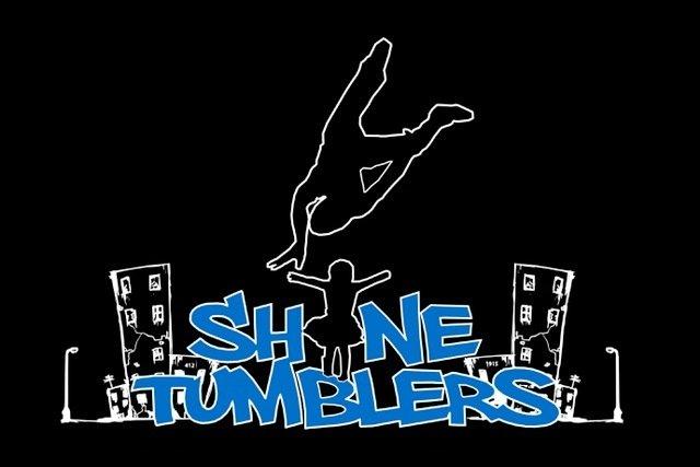 SHINE Tumblers T-shirt (Black) 0003