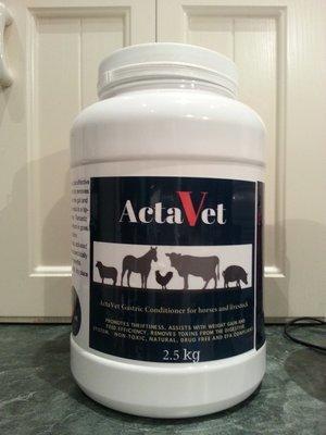 ActaVet 2.5kg - Introductory Price
