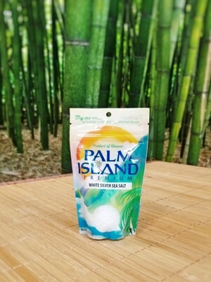 Palm Island Premium White Silver Sea Salt