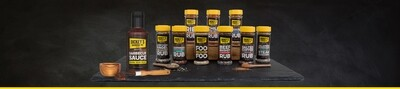 Dickey's Super Pack Spices, Rubs and BBQ Sauce (10 Items)