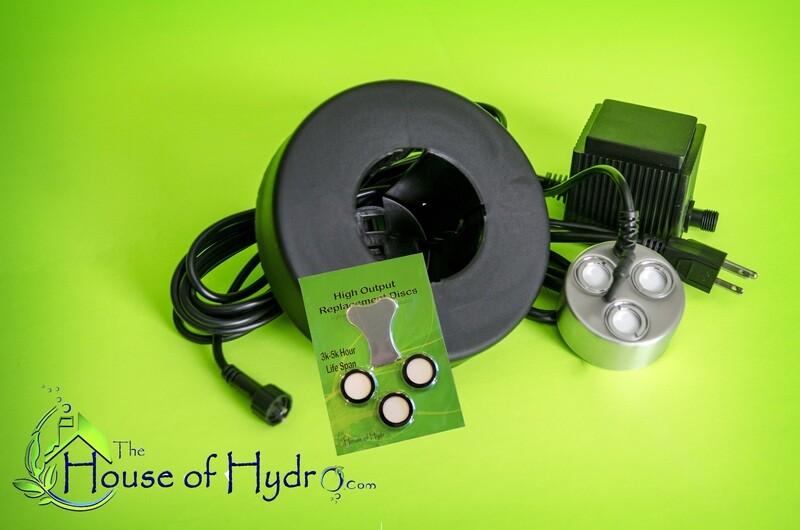3 Disc Mist Maker Starter Kit - House of Hydro