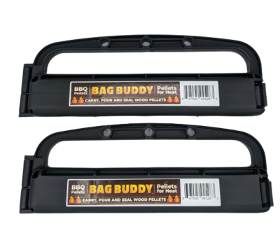 Bag Buddy - BBQ Pellet - Carry, Close, and Pour - Close Bags & Easily Carry (2-packs and up)