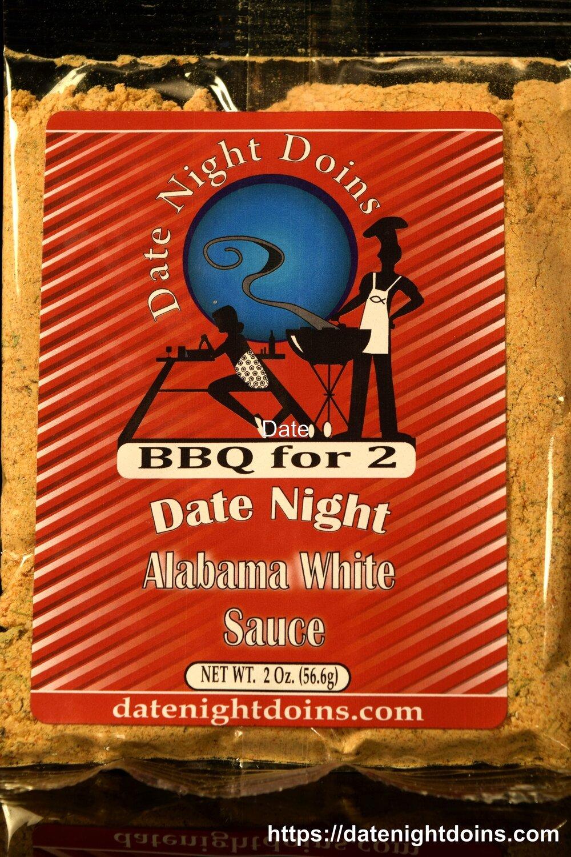 Date Night Doins Alabama White Sauce