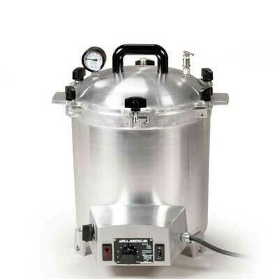 All American 25 Quart Benchtop Sterilizer - 120 volt