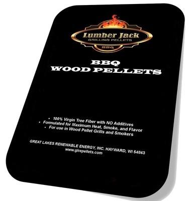 80 Pound Lumber Jack BBQ Pellets Variety Pack (Select 4 20-Pound Varieties)