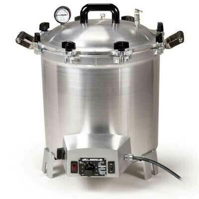 All American 41 Quart Benchtop Sterilizer - 240 volt