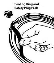 Presto 09985 Pressure Cooker Sealing Ring - Replacement