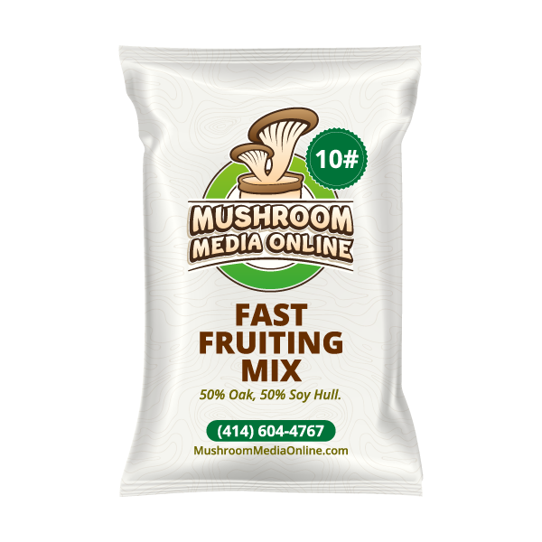 10 Pounds Fast Fruiting - Masters Mix  Pellets
