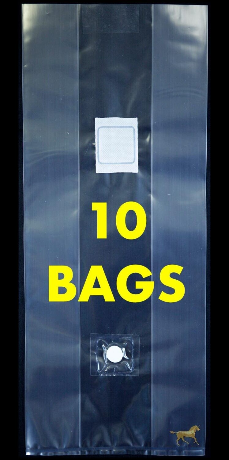 Unicorn Bag Type 3T with Injection Port- 10 Count