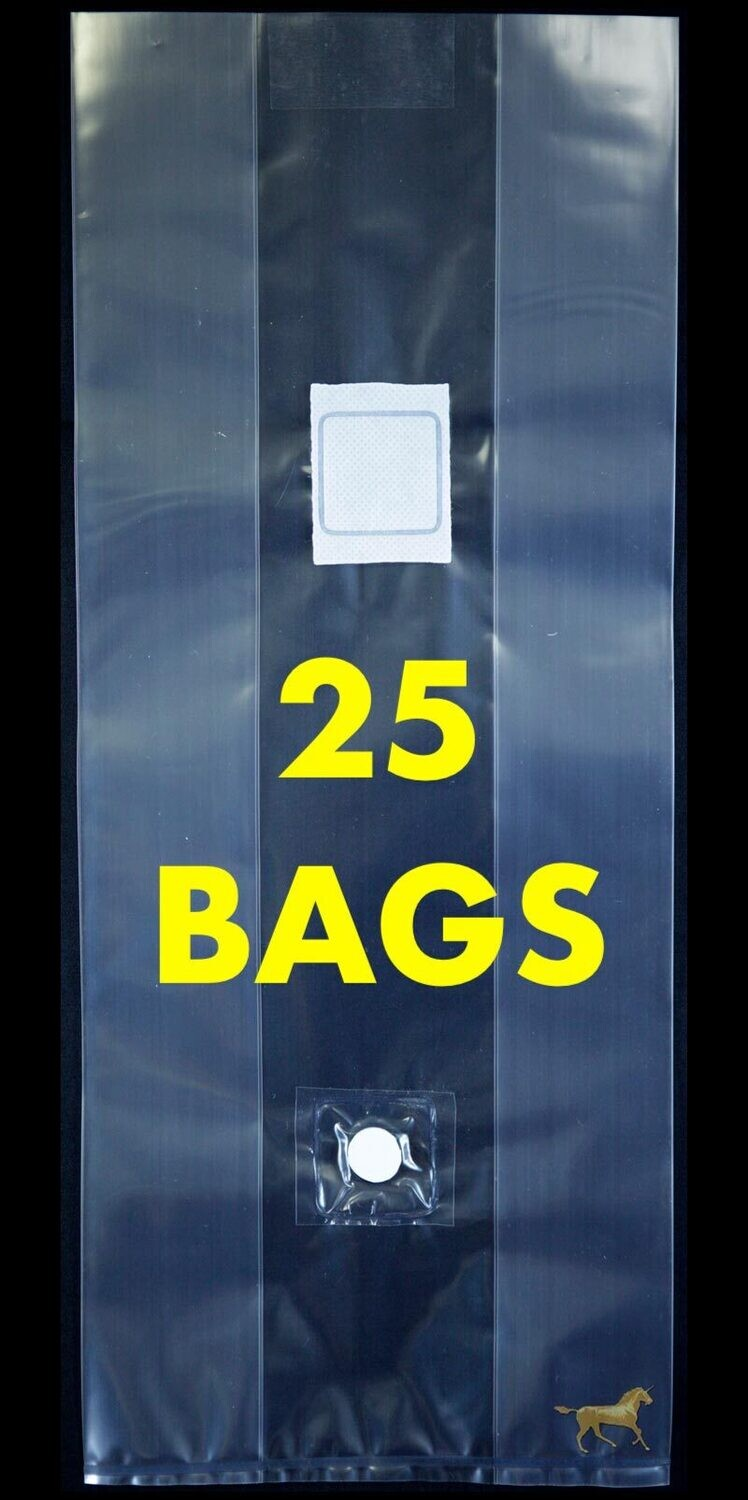 Unicorn Bag Type 3T with Injection Port- 25 Count