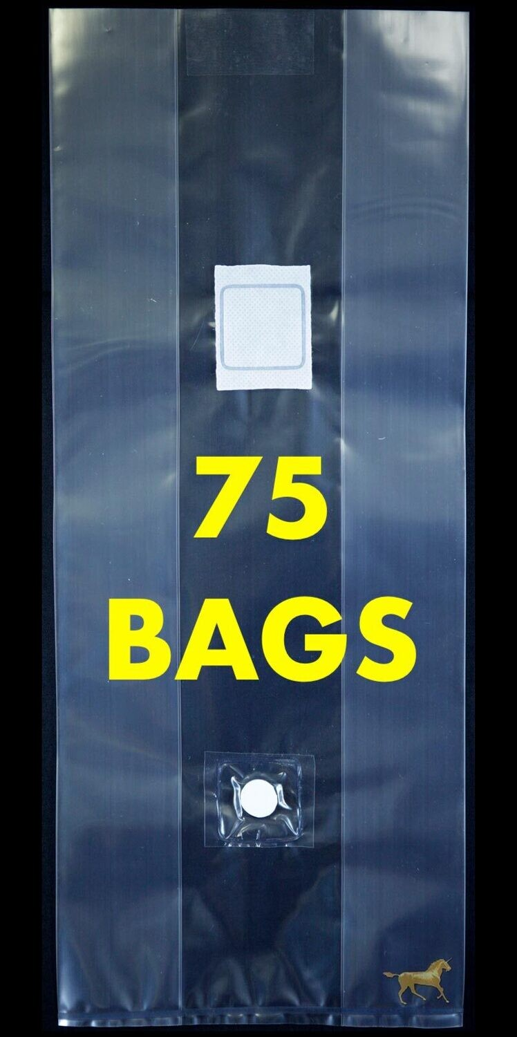 Unicorn Bag Type 3T with Injection Port- 75 Count