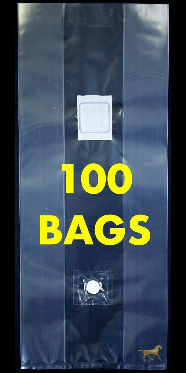 Unicorn Bag Type 3T with Injection Port - 100 Count
