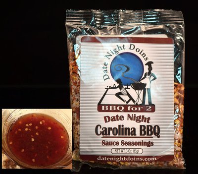 Carolina BBQ Sauce Seasoning Packet (free shipping)