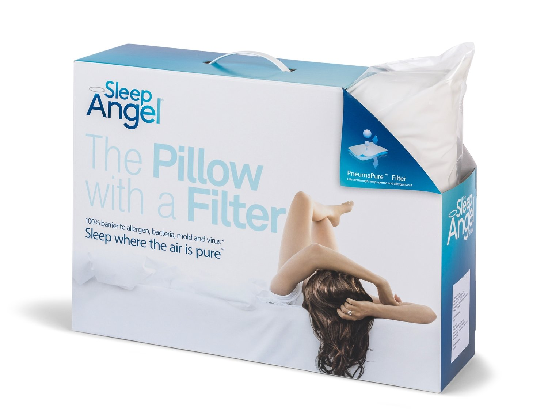 SleepAngel® Hyvinvointityyny Memory foam täyte - Koko 50x60cm, korkeus 11cm