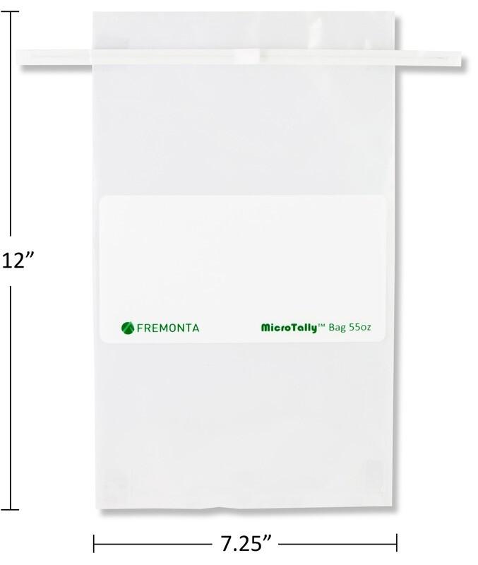 55 oz MicroTally Sample Bag (1,627ml)