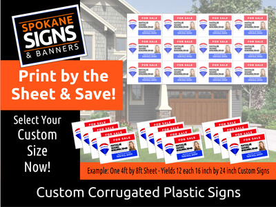 Discounted 4mm Corex Signs