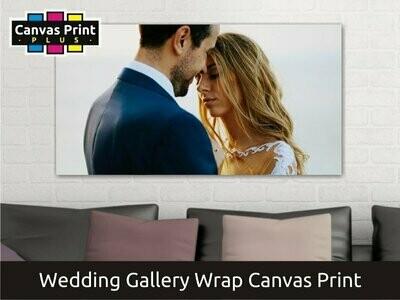 Wedding Canvas Gallery Wrap