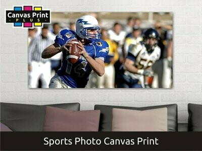 Sports Canvas   Gallery Wrap