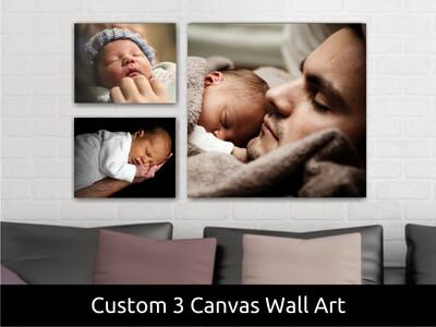 Baby Photo Canvas Print | Gallery Wrap
