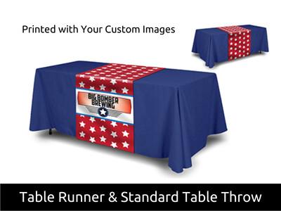 Fabric Table Runner & Throw Combo