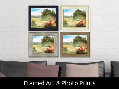 Custom Framed Art or Photo Prints