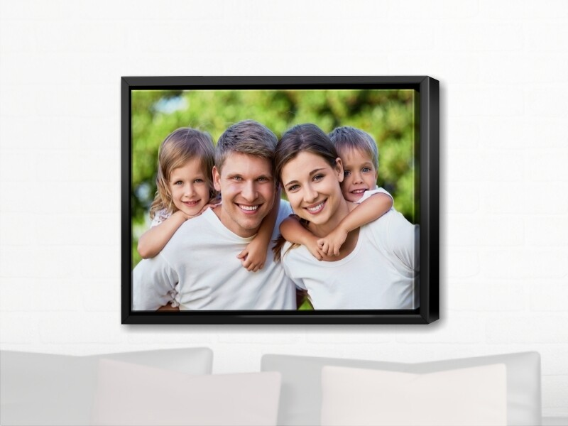 Canvas Print with Wooden Frame