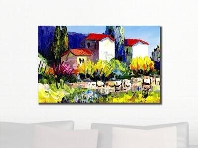 Custom Artwork Canvas Print | Gallery Wrap