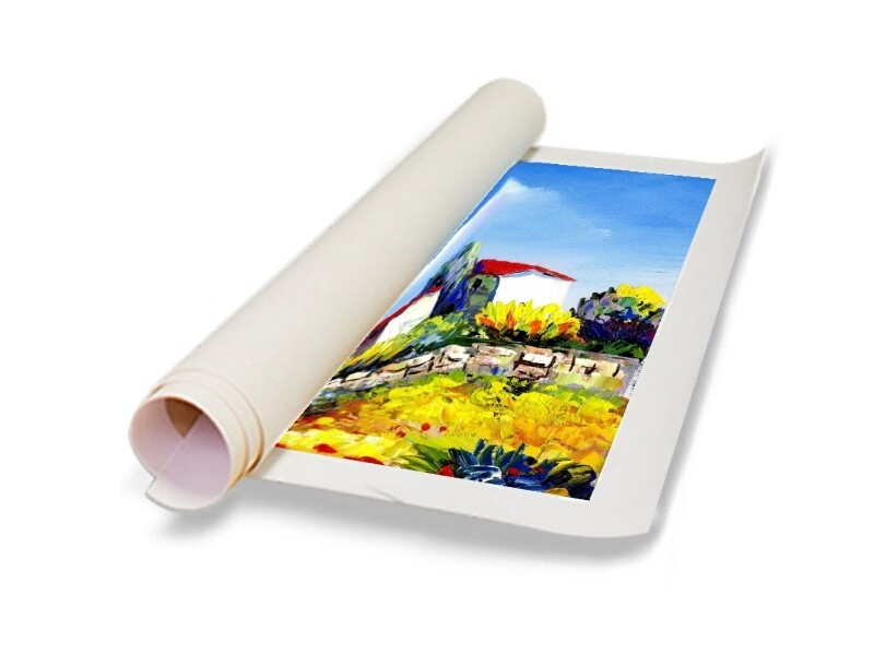Artist Canvas Roll Oversized   U-Stretch