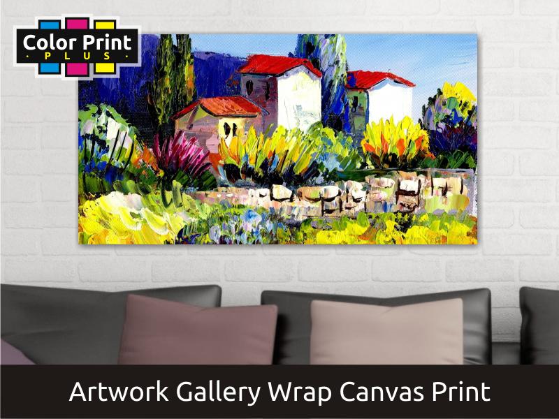 Artwork Canvas Print | Gallery Wrap