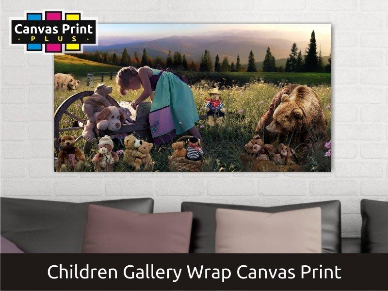 Childrens Theme Canvas Print | Gallery Wrap