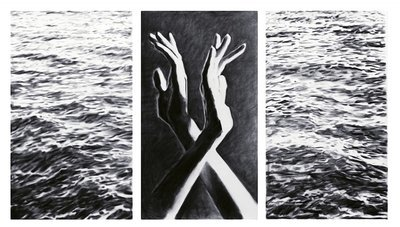 Between Us Tryptic - 3 Separate Digital prints ea. 11 x 17