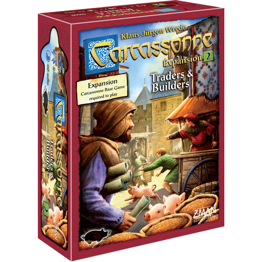 Carcassonne: Traders & Builders - Expansion #2
